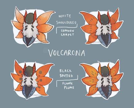 Volcarona Subspecies