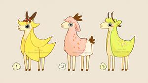 Fruit Alpaca Adopts (CLOSED)