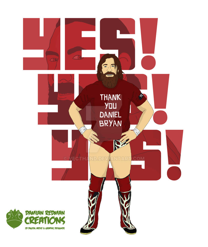 Daniel Bryan by Vecthand