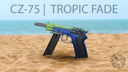 CZ75-Auto   Tropic Fade