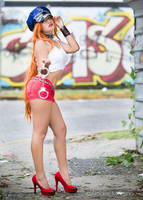 cosplay final fight by aratkrision