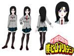 Boku no Hero Academia OC: Mitsuki Kiyoshi.