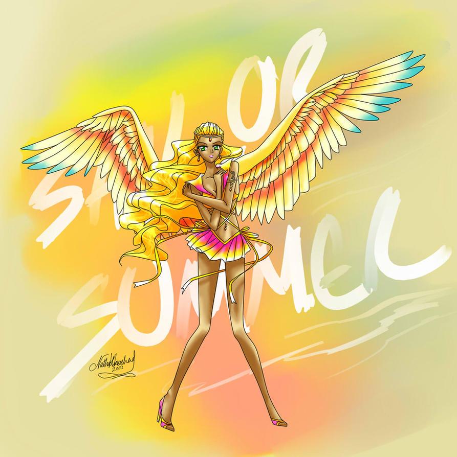 Season Senshi - Sailor Summer by elrothiel