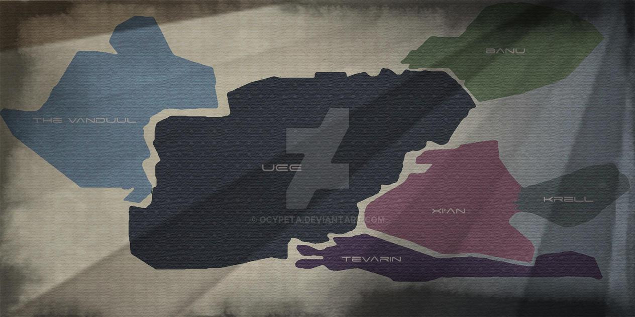 ARK Retro Star Map by ElleRyther