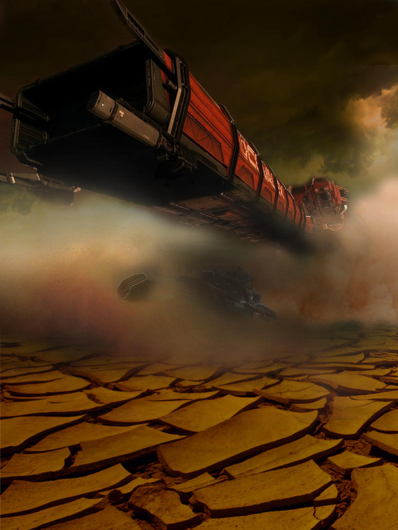 Sandstorm Race by Ocypeta