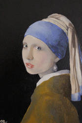 Girl with the Pearl Earring (Mah version)