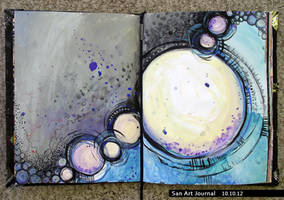 Art Journal 10 by San-T