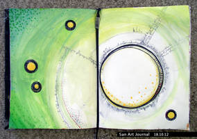 Art Journal 18 by San-T