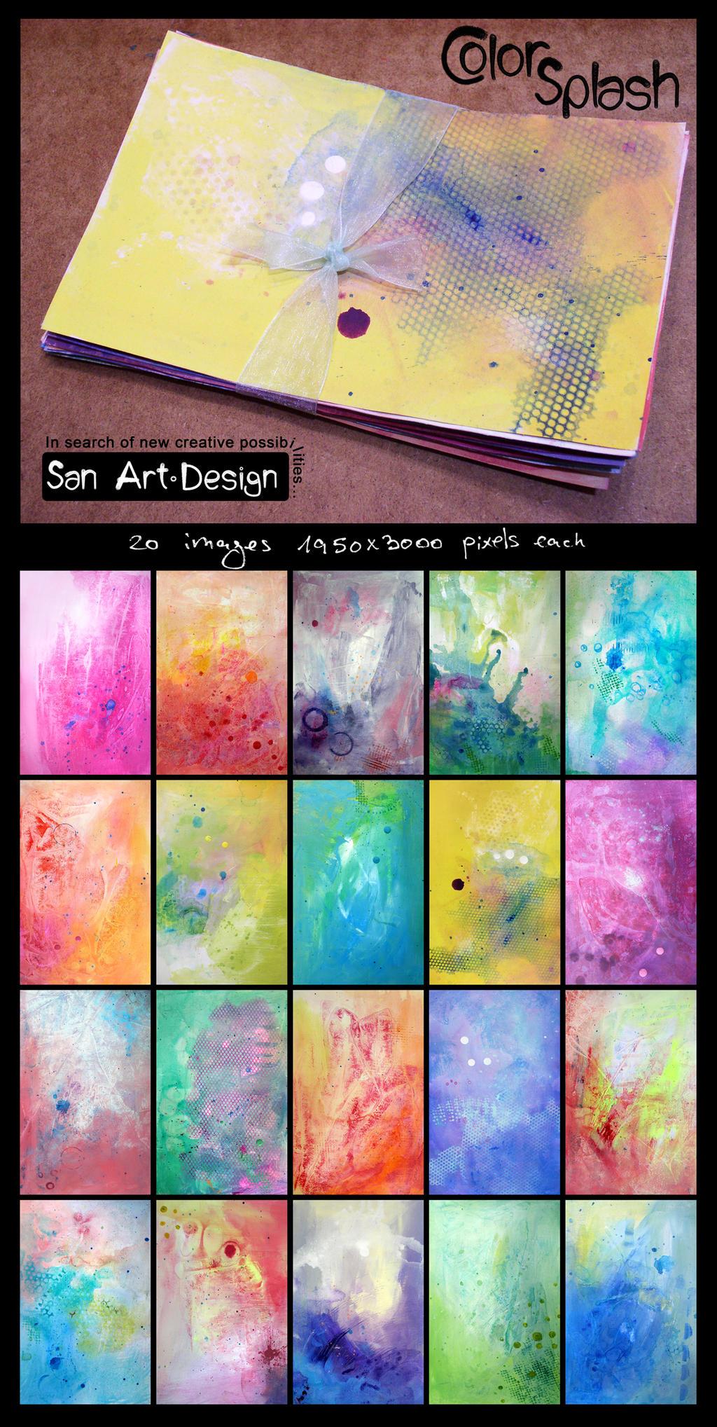 Color Splash - Texture Pack by San-T