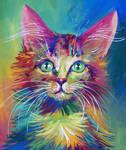 Colorful Cat 4