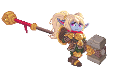 Pixel Poppy by zokark2