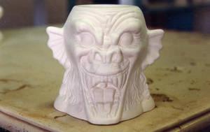 Ceramic gargoyle by Dave Britton