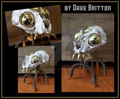Steampunk Skull by Dave Britton