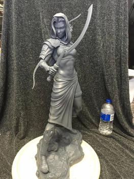 Narama Huntress of Men 1/4 scale kit