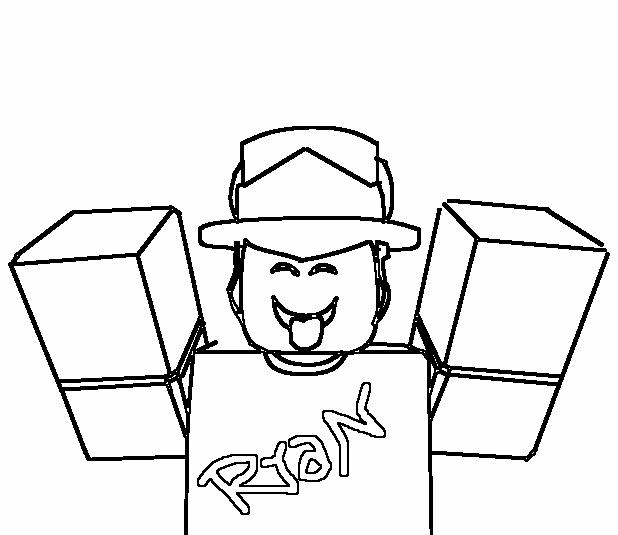 Ryan Roblox Sketch By Ryanthetracer On Deviantart