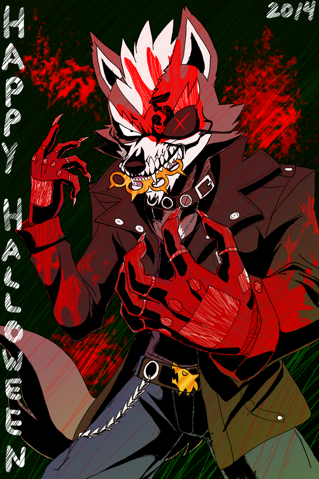 ffdp wolf halloween 2014 by vivianwolf18 on deviantart
