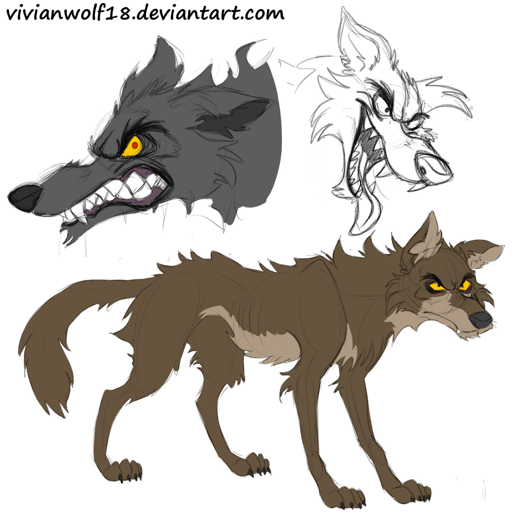 Concept Bad cliche bad wolf concept by vivianwolf18 on deviantart