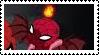 Demon Spidey Stamp by MSPSarah