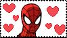 Spiderman Fandom Stamp by MSPSarah