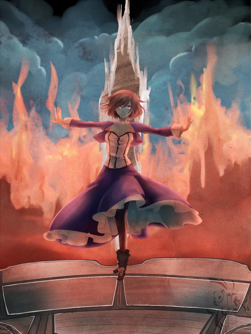 Bioshock Infinite: Elizabeth by StardustSkull