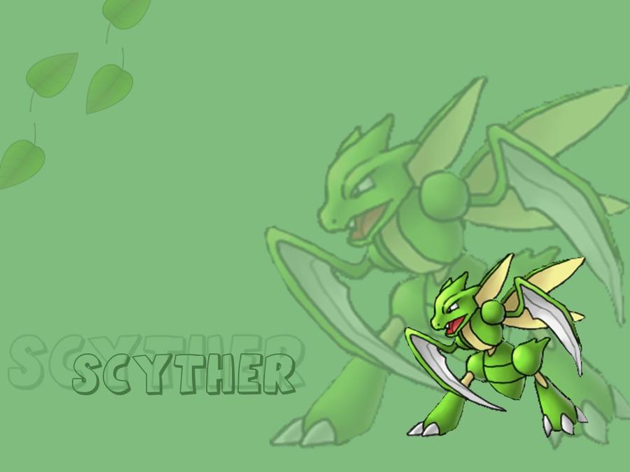 Pokemon desktop background scyther by eeveexx43 on deviantart - Scyther wallpaper ...