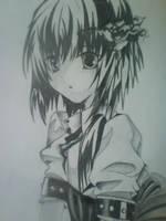 Anime girl by Leanna7117