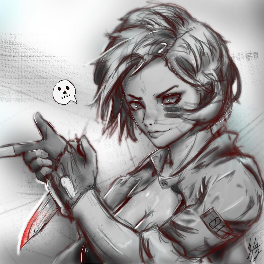 Knife! by zenki97