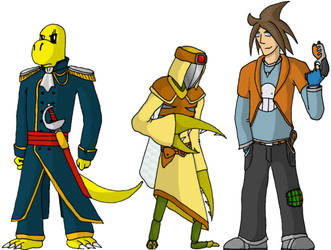 A bunch of characters by emilichbin