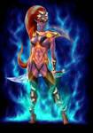 Dark Elf Amazon by 4etJIanin