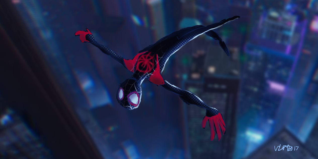 Wallpaper Spider Man 2099 Fan Art 4k Creative Graphics: Into The Spider-verse By Comic-Book-Guy-2099 On DeviantArt