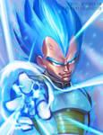 Vegeta Super Saiyan God 2