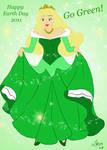 Make It Green by LindyArt