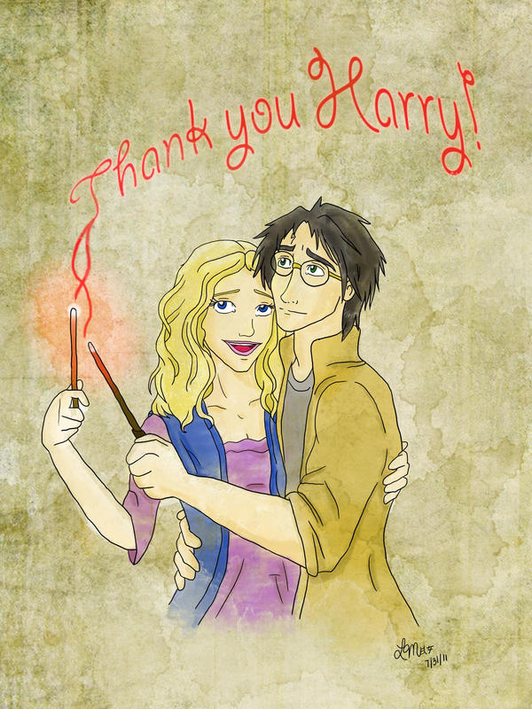 Thank You Harry. by LindyArt