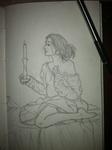 Lorna Blake sketch by LindyArt