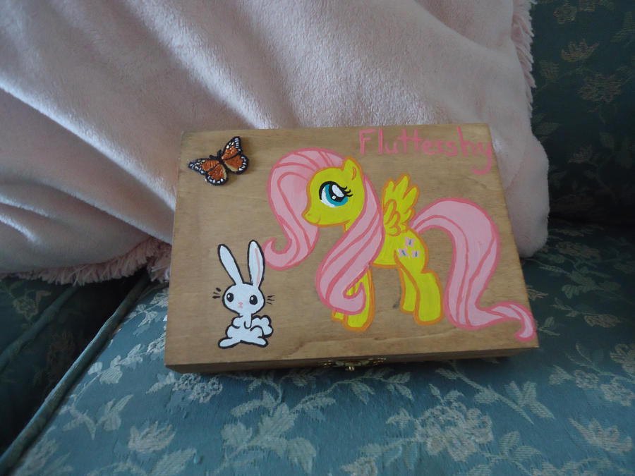 Fluttershy box by LindyArt