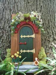 Fairy Door by LindyArt