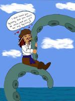 Jack and the Kraken by LindyArt