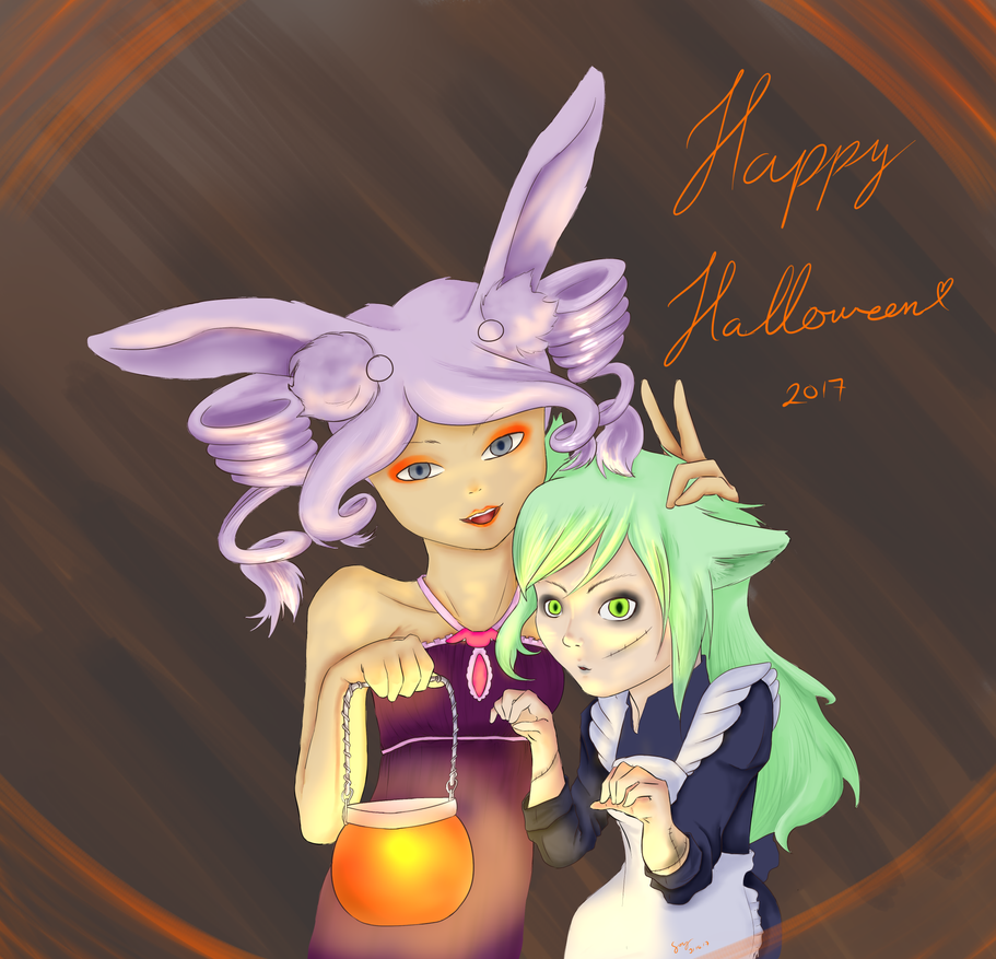 Happy Halloween 2017 by LittleSmallSonya