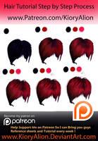 Woman Hair 2 by KioryAlion