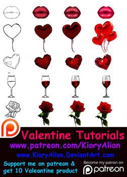 Valentine Tutorials
