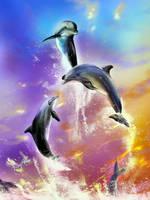 Dolphin by KioryAlion