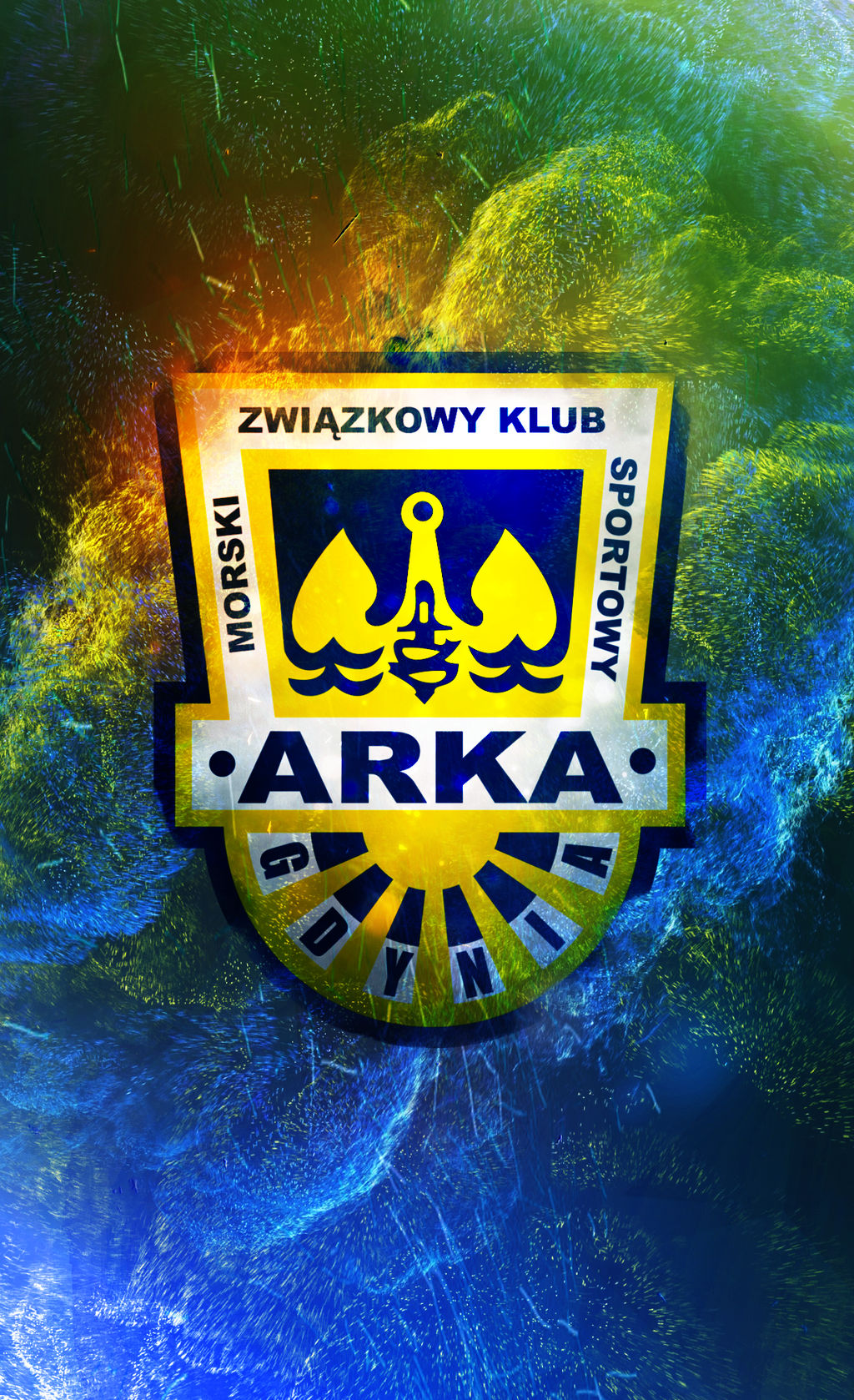 Arka Gdynia logo mobile wallpaper