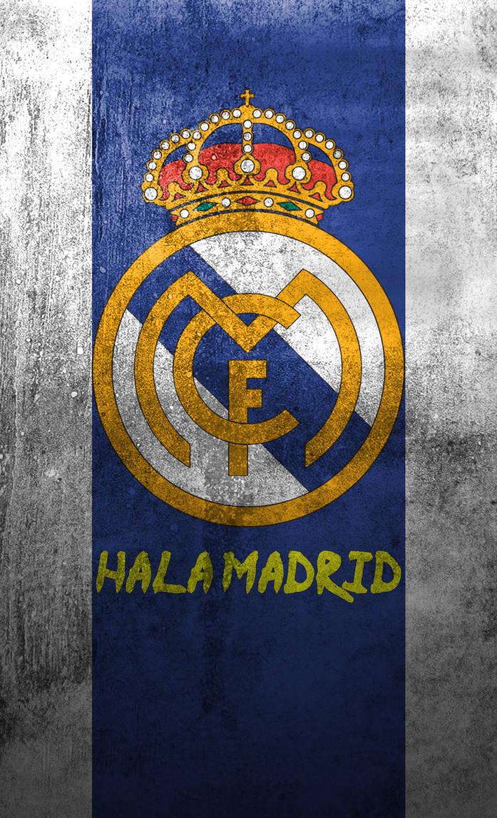 Real Madrid logo mobile wallpaper (2) by Adik1910 ...