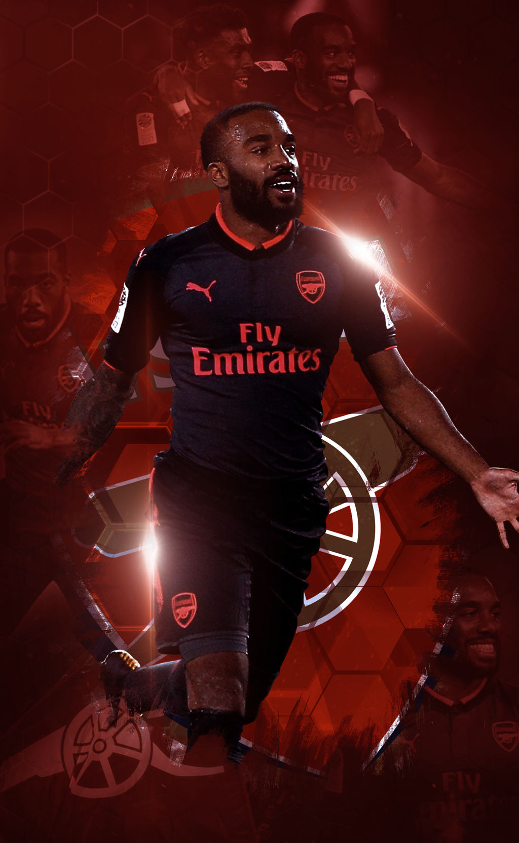 Lacazette Lockscreen By Adik1910 On Deviantart