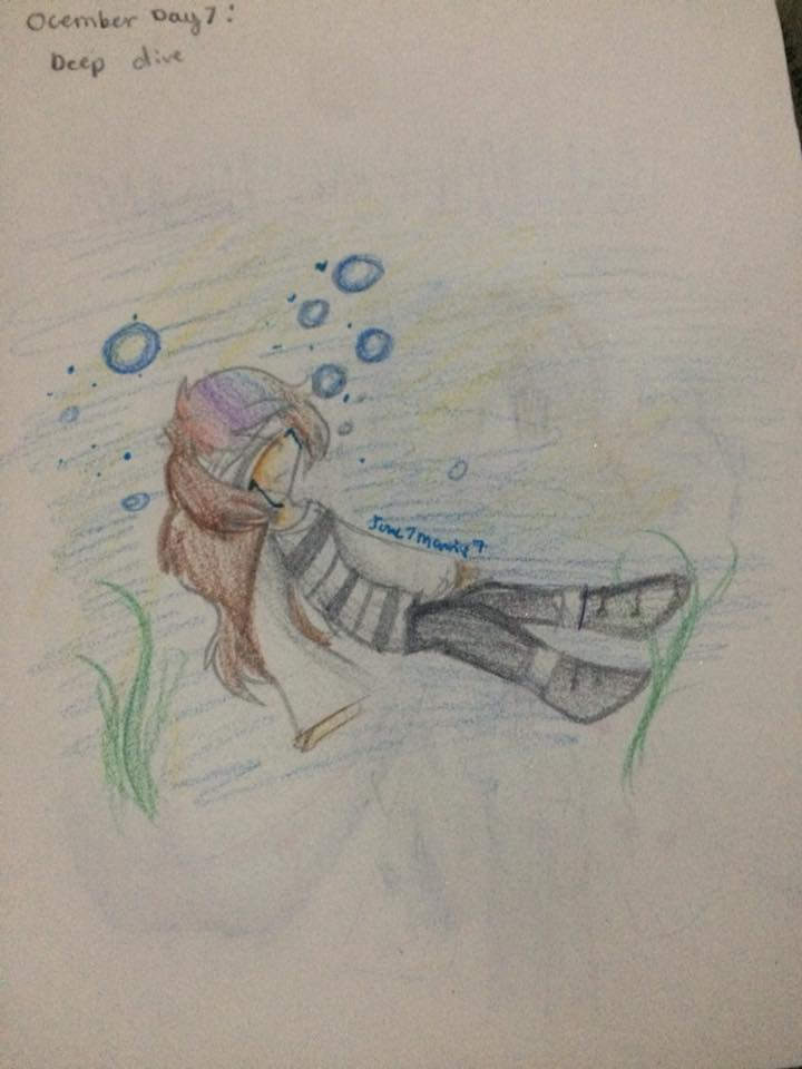 Ocember day 7 by Ione7Marie7