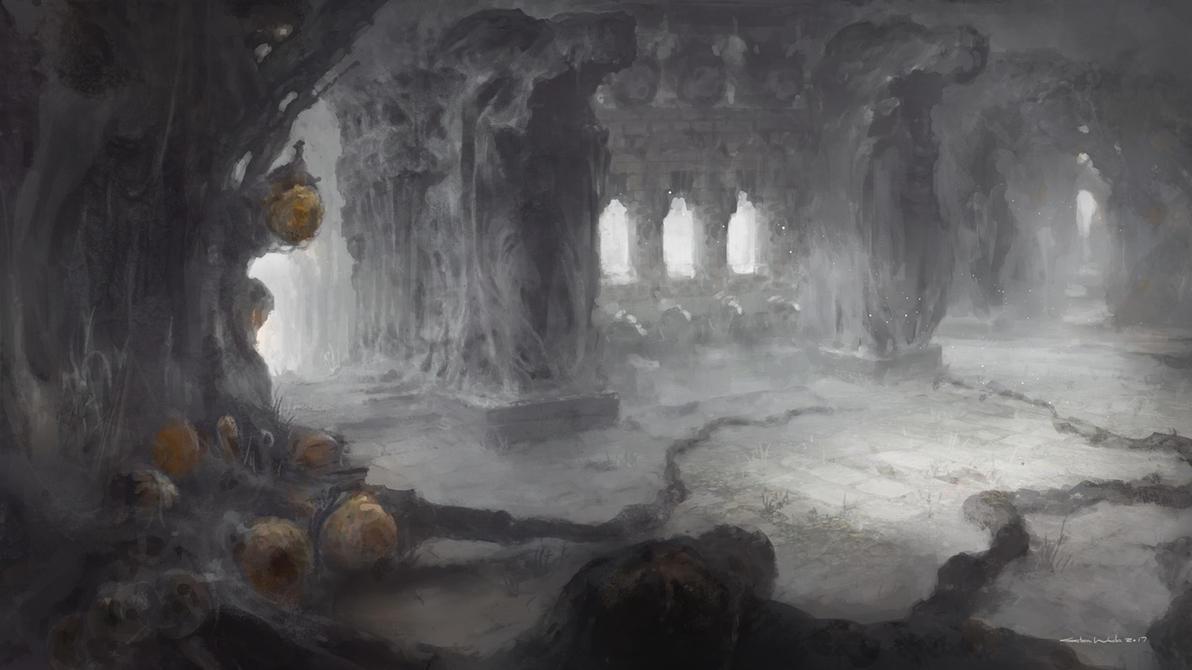 Forgotten Ruins by satoruwada