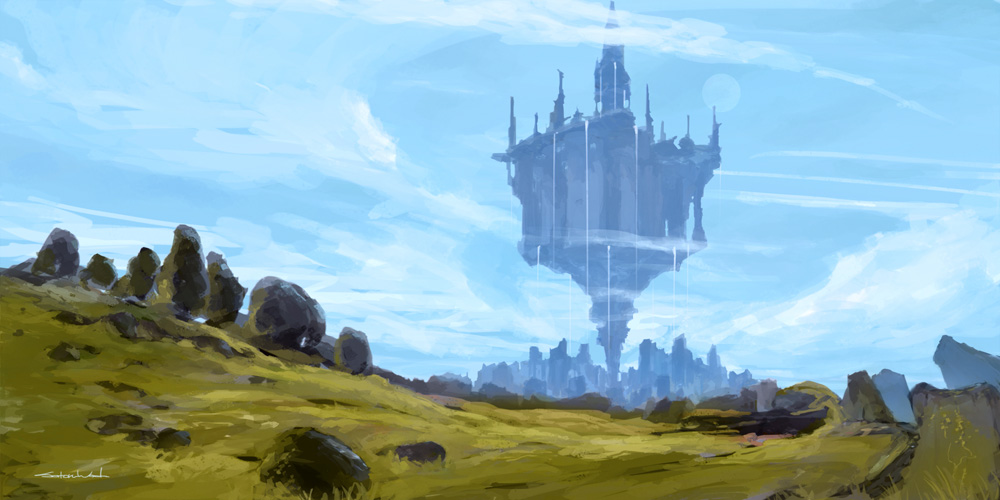 Environment Sketch by satoruwada