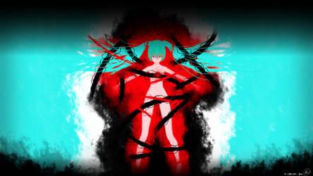Hatsune Miku -Painful Red-