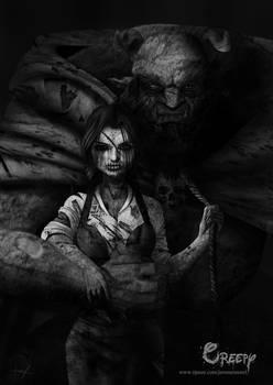 Creepy Beauty and the beast