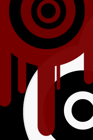 Iphone Wallpaper Red Drips 2 By Too Fast On Deviantart